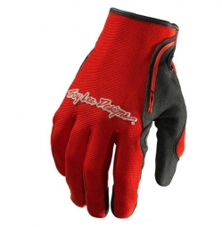 Troy lee designs paire de gants longs xc rouge s