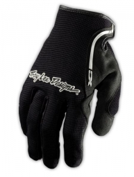 troy lee designs paire de gants longs xc noir m