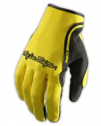 Troy lee designs paire de gants longs xc jaune s