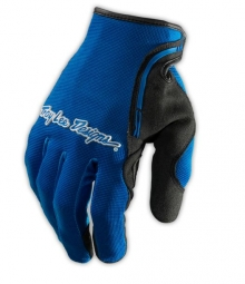 troy lee designs paire de gants longs xc bleu xl