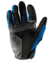 troy lee designs paire de gants longs xc bleu s