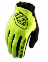 troy lee designs paire de gants longs gp air jaune m
