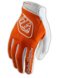 troy lee designs paire de gants longs air orange s