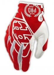 TROY LEE DESIGNS Paire de Gants longs SE PRO Rouge