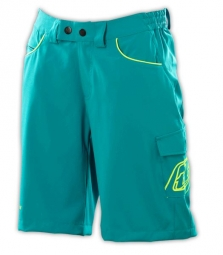 TROY LEE DESIGNS Short Femme SKYLINE Turquoise
