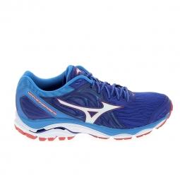 Chaussures de running mizuno wave inspire bleu 40