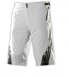 TROY LEE DESIGNS Short RUCKUS Blanc