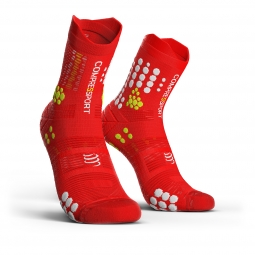 Chaussettes compressport racing socks v3 0 trail 35 38