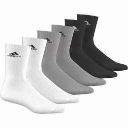 Chaussettes adidas performance 3s per 6p 24 29