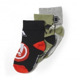 Chaussettes adidas performance marvel avengers 3pp 24 29