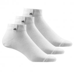 Chaussettes adidas performance per la ankle 3 paires 31 34