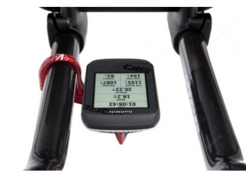 k edge support guidon de triathlon pour garmin edge noir