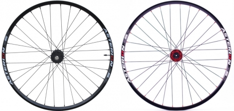 ASTERION Wheelset ESP 26'' 20 mm / 12x142mm Black