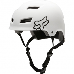 Casco bol Fox TRANSITION Blanco