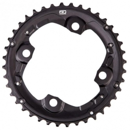 SHIMANO Chainring SLX FC-M675 38T 2x10 Speeds Black
