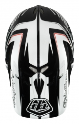 TROY LEE DESIGNS 2014 Visor for Helmet D2 DELTA White Black