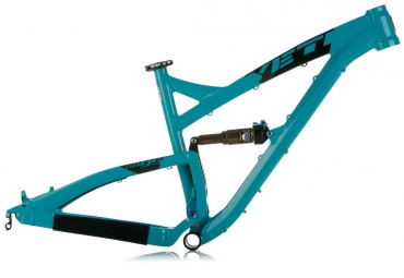YETI 2013 Frame SB 95 Aluminium Turquoise + Rear Shock Fox Float CTD