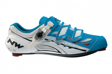 Chaussures Route Northwave TYPHOON EVO SBS Bleu Blanc