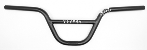 GLOBAL RACING Guidon PRO Aluminium 7,25'' Noir