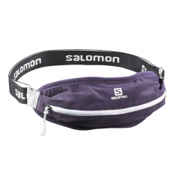 Ceinture de running Salomon Agile single belt Violet Taille Unique