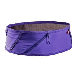 Ceinture salomon pulse belt mauve m