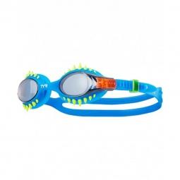 Lunettes de natation tyr swimple spikes bleu