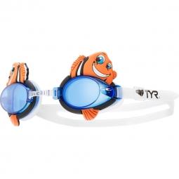 Lunette de natation enfant tyr charactyrs happy fish bleu