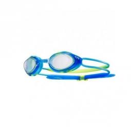 Lunette de natation tyr tyr black hawk racing juniorsmoke bleu