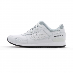 Baskets basses asics gel lyte iii blanc 44