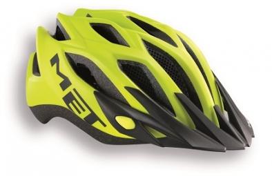 MET 2014 Helmet CROSSOVER Yellow Black One Size