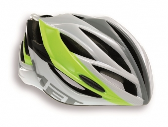 MET 2014 Helmet FORTE White Yellow One Size