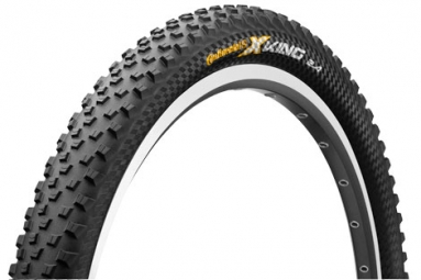 continental pneu x king 26 souple protection black chili tubeless ready 2 40