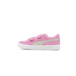 Baskets basses puma inf suede classic v baby rose 26