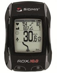 SIGMA COMPTEUR ROX 10.0 Kit complet GPS Noir