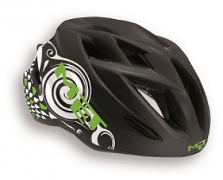 MET 2014 Helmet GAMER Black Green White