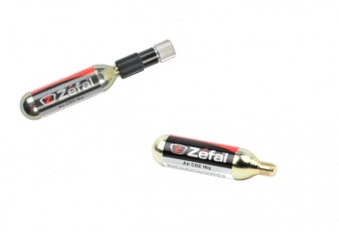 ZEFAL Kit de 2 cartouches de CO2 EZ CONTROL