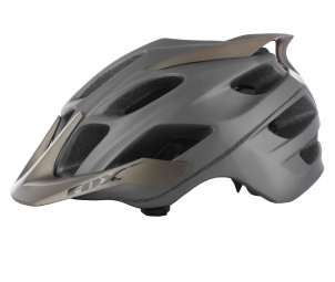 Casco Fox FLUX Titanio