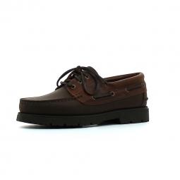 Chaussures bateau aigle tarmac marron 41