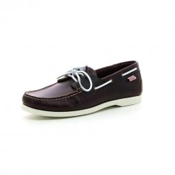 Chaussures bateau aigle america 2 marron 41
