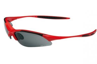 massi paire de lunettes wind rouge gris