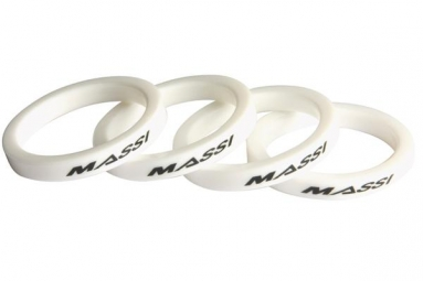 MASSI 4 Spacers Kit 5mm 1''1/8 White
