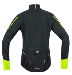 gore bike wear veste power gore tex noir jaune xl
