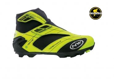 Chaussures VTT Northwave Artic Commuter Mtb Gtx Jaune Fluo Noir
