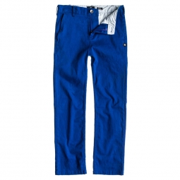 Pantalon dc shoes dc straight wor b pt bleu 28
