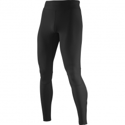 Collant de running salomon equipe warm tight noir l