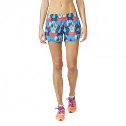 Short running adidas performance m10 q1 short multicolore s