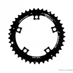 Rotor plateau vtt exterieur noq xc2 110mm bcd noir 39