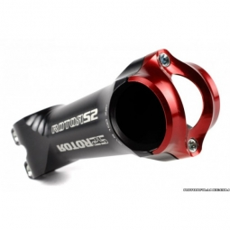 ROTOR Potence Route / VTT S2 +/- 7.5° L 130 mm Rouge