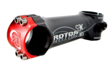 ROTOR Potence ROUTE / VTT S3X 6° Capot Rouge