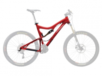 SANTA CRUZ 2013 Frame Blur LT Carbone + Rear Shock FOX CTD Red